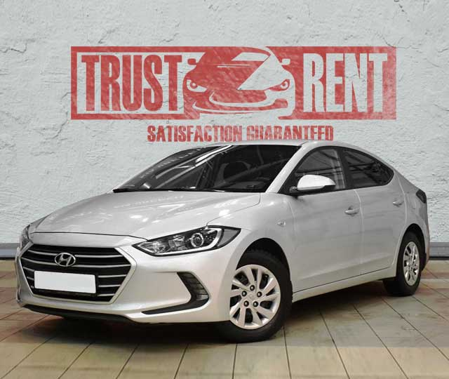 HYUNDAI ELANTRA / rent a car in Baku, Azerbaijan from TRUST RENT