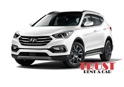 Hyundai Santa Fe / Rent a car Baku. Arenda masinlar. Прокат авто в Баку