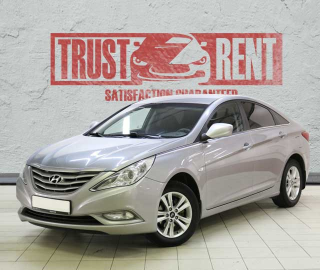 Hyundai Sonata (2013) / Rent a car Baku / Car rental Baku
