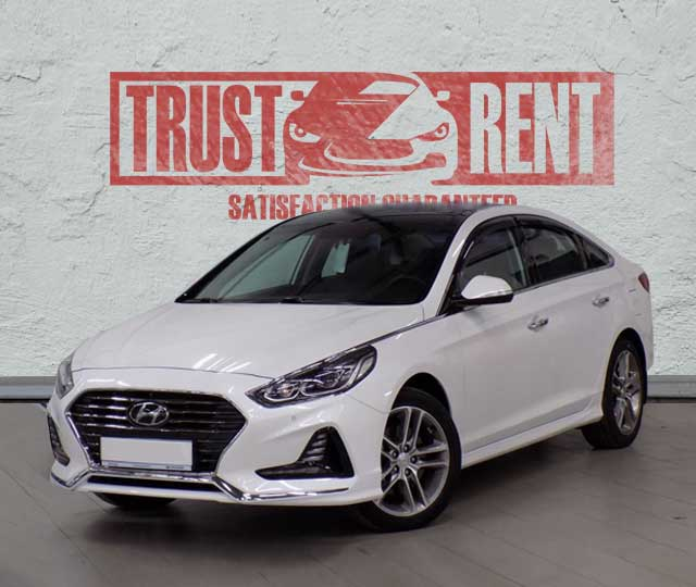 Hyundai Sonata (2017) / Rent a car Baku / Car rental Baku
