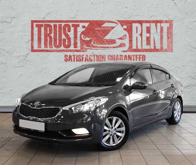 KIA CERATO / rent a car in Baku, Azerbaijan from TRUST RENT
