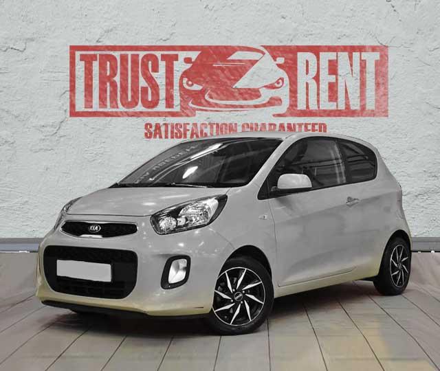 KIA PICANTO rental cars in Baku