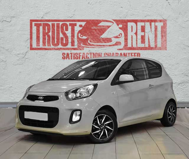 KIA PICANTO rental cars in Baku
