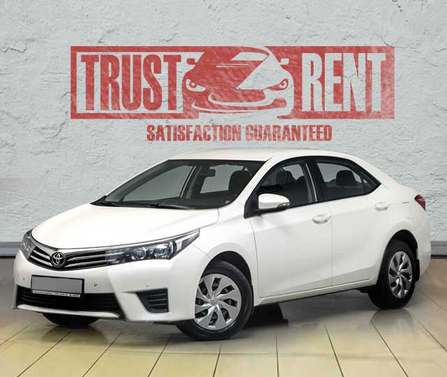 TOYOTA COROLLA / rent a car in Baku, Azerbaijan from TRUST RENT