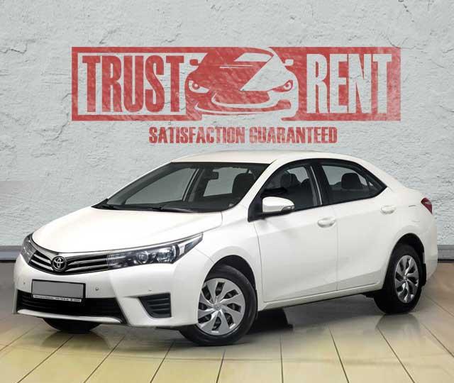 TOYOTA COROLLA / rent a car in Baku, Azerbaijan from TRUST RENT
