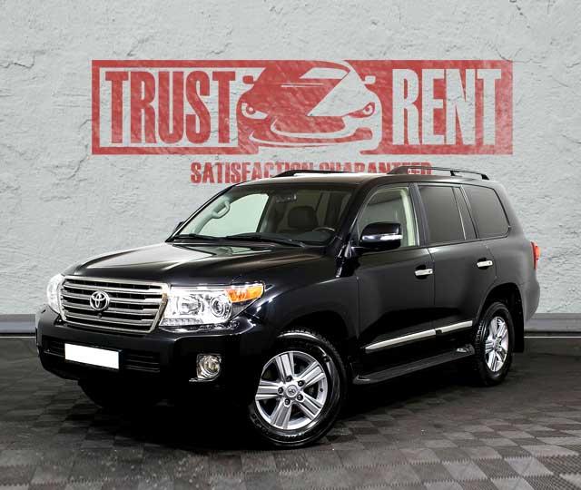 Toyota Land Cruiser (2014) / Rent a car Baku / Car rental Baku