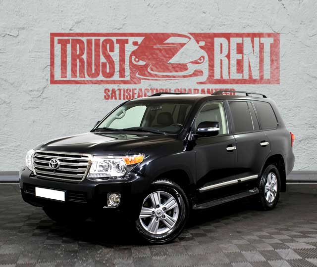 Toyota Land Cruiser (2014) / Rent a car Baku / Car rental Baku