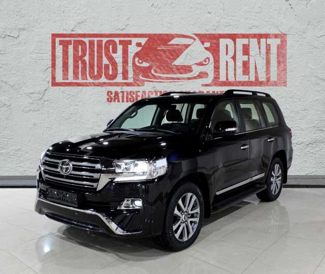 Toyota Land Cruiser (2018) / Rent a car Baku / Car rental Baku
