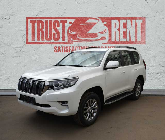 Toyota Prado (2018) / Rent a car Baku / Car rental Baku