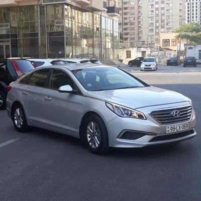 Hyundai Sonata / car rental Baku / аренда машин в Баку / kiraye masinlar