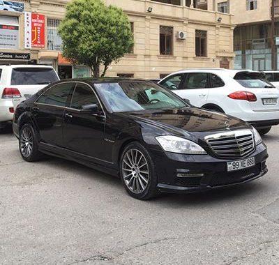 Mercedes S-class / Rental Cars Baku / Arenda Masinlar / аренда авто в Баку