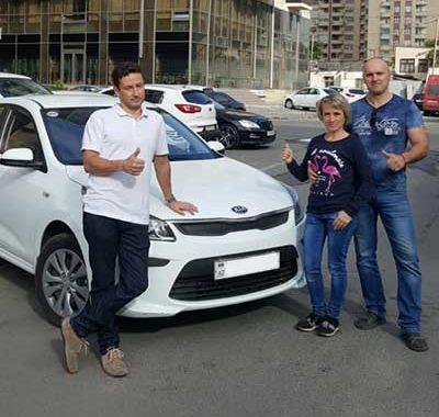 Our Quests From Russia Chose Kia Rio / Rent A Car Baku / аренда авто в Баку / Arenda Masinlar