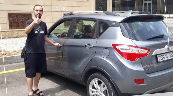 Car Hire Baku / Our Guest From The UAE Chose The Budget Crossover