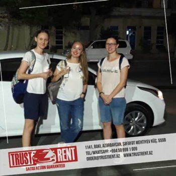 Baku car rental / Avtomobil kirayesi / Аренда машин в Баку, Азербайджане / 27.07.2019