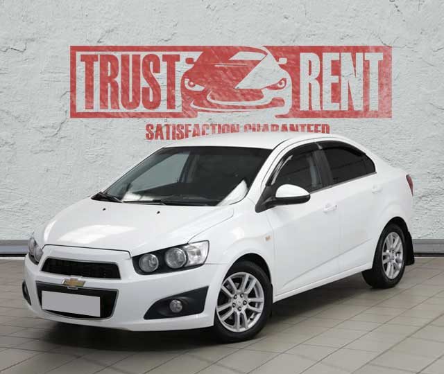 Chevrolet Aveo / Trust Rent a car Baku / Аренда авто в Баку / Avtomobil kirayəsi