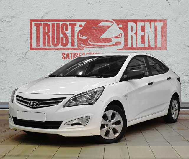 Hyundai Accent (2016) / Trust Rent a car Baku / Аренда авто в Баку / Avtomobil kirayəsi