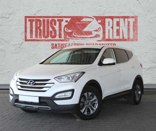 Hyundai Sante-Fe / Trust Rent a car Baku / Аренда авто в Баку / Avtomobil kirayəsi