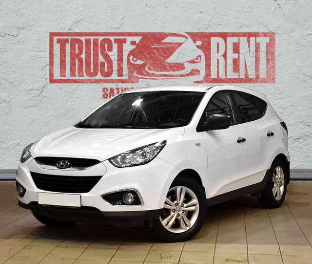 Hyundai ix35 / Trust Rent a car Baku / Аренда авто в Баку / Avtomobil kirayəsi