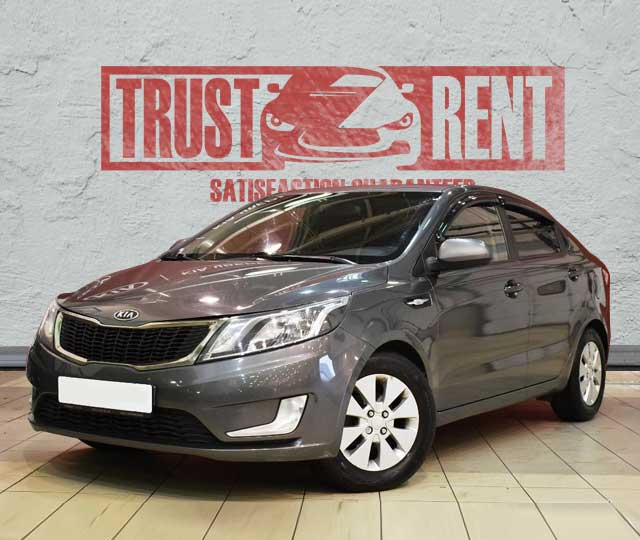 Kia Rio (2016) / Trust Rent a car Baku / Аренда авто в Баку / Avtomobil kirayəsi
