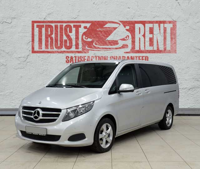 Mercedes Benz V-class / Trust Rent a car Baku / Аренда авто в Баку / Avtomobil kirayəsi