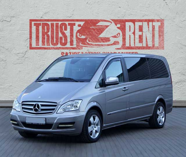 Mercedes Benz Viano / Trust Rent a car Baku / Аренда авто в Баку / Avtomobil kirayəsi
