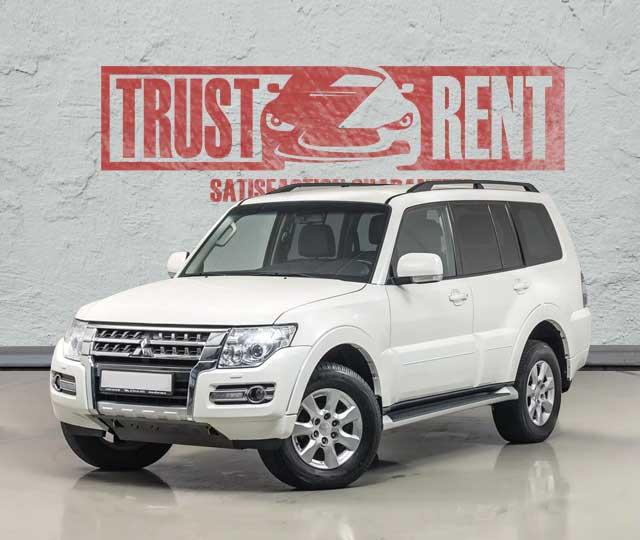 Mitsubishi Pajero / Trust Rent a car Baku / Аренда авто в Баку / Avtomobil kirayəsi