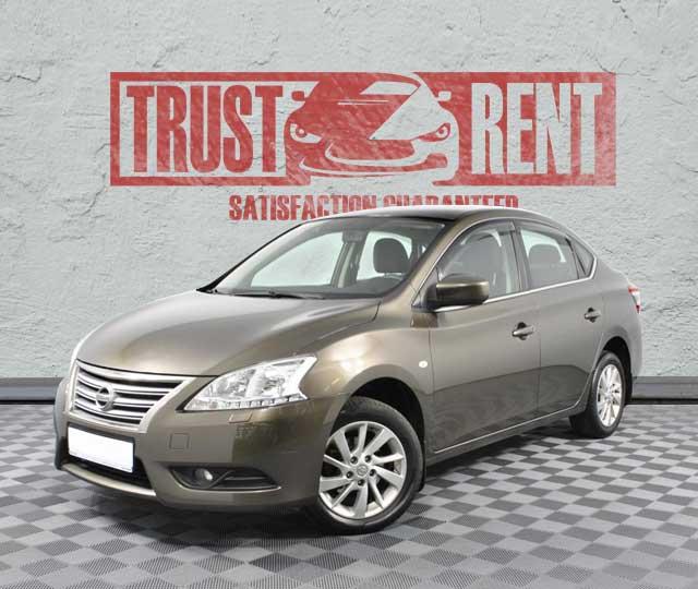 Nissan Sentra / Trust Rent a car Baku / Аренда авто в Баку / Avtomobil kirayəsi