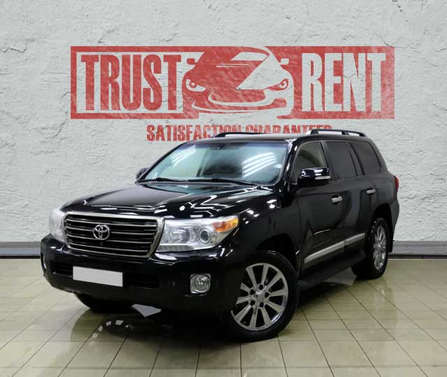 Toyota Land Cruiser 200 / Trust Rent a car Baku / Аренда авто в Баку / Avtomobil kirayəsi