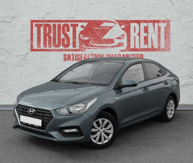 Hyundai Accent (2019) / Trust Rent a car Baku / Аренда авто в Баку / Avtomobil kirayəsi