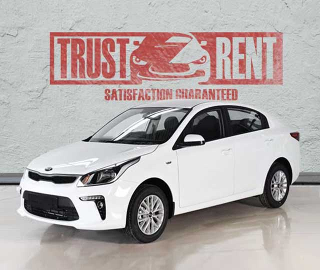 Kia Rio (2019) / Trust Rent a car Baku / Аренда авто в Баку / Avtomobil kirayəsi