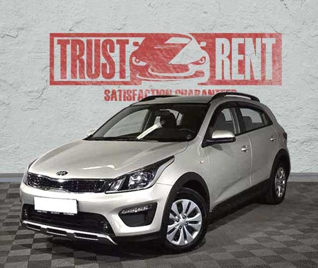 KIA RIO X-LINE (2019) / Trust Rent a car Baku / Аренда авто в Баку / Avtomobil kirayəsi