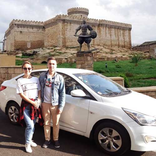 Our Client From Russia Sent A Photo Near To The Mardakan Castle