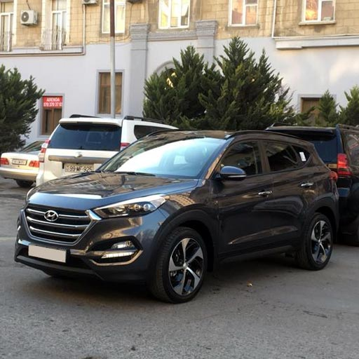 26.01.2019 / Hyundai Tucson rental car in Baku / авто на прокат в Баку / icarə maşın