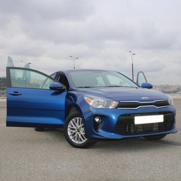 Kia Rio (2019) / Rental cars in Baku, Azerbaijan / Kirayə maşınlar / Авто на прокат в Баку, Азербайджан 02.03.2020