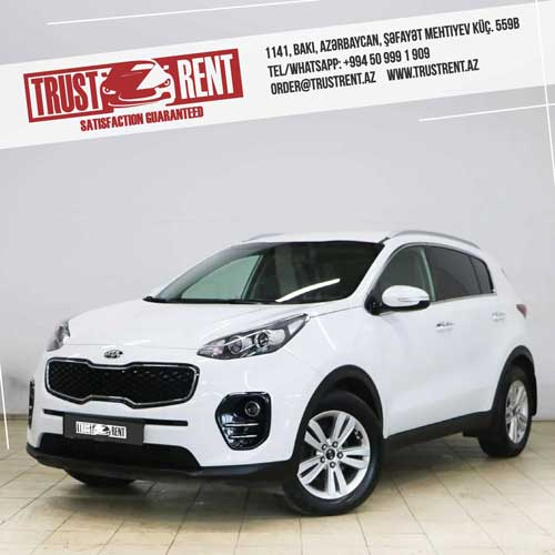 Kia Sportage Rent A Car Baku, Car hire Baku, прокат авто в Баку, Авто на прокат в Баку, maşın kirayəsi
